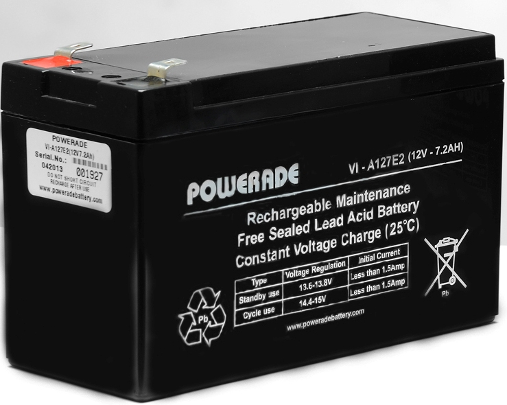 12v / 7.2 Ah Lead Acid Battery