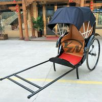 The China Old Shanghai Hand Pull Rickshaw for sale