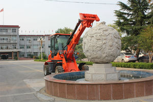 Hot Selling Qingdao Everun Machinery ER1500 Mini Telescopic Loader With Quick Coupling
