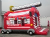 inflatable fire fighting truck bouncer for kids