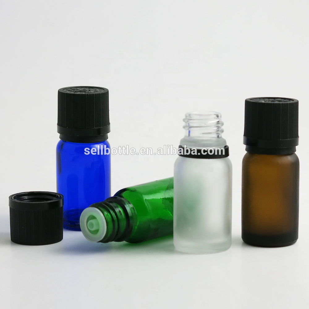 Frosted blue green amber clear glass essential oil <strong>bottles</strong> liquid <strong>Bottles</strong> 10ml