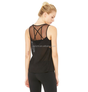 Womens Athletic Stretch Active Gym Racerback Fit Dry Tank Tops Wholesale