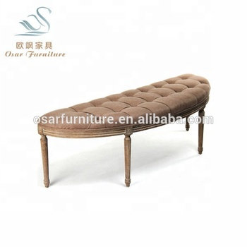Peachy Osar Brown Linen Fabric Upholstered Oak Wood Frame Bed End Bench Buy Oak Wood Bed Bench Linen Fabric Bench Wood Frame Bench Product On Alibaba Com Andrewgaddart Wooden Chair Designs For Living Room Andrewgaddartcom