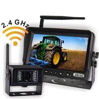 Wireless CCTV camera system backup camera for farm tracotor,plough