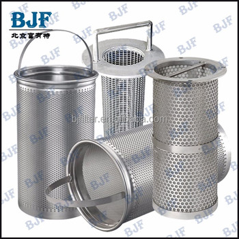 Factory Price Stainless Steel Basket Strainer Basket Type