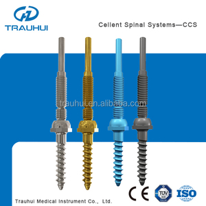 CCS6.0 Pedicle Plate Screw Orthopedic Implant Spinal Implant for thoracic lumbar cervical fixation