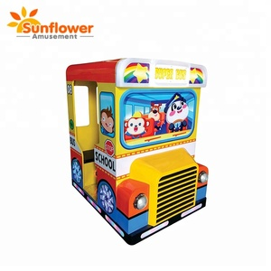 mini bus coin operated unblocked car games kiddie ride fiberglass toys machine kids amusement swing ride