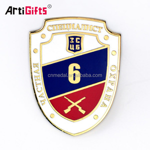 Custom Made Metal Company Corps Brand Emblem Logo Badge Maker