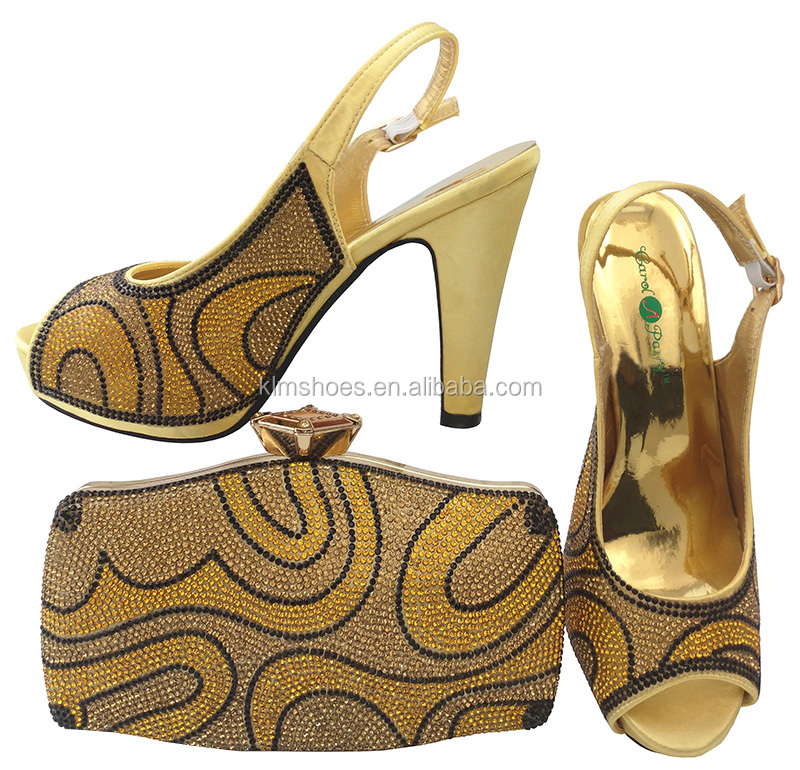 Set Shoes For BCH Quality Shoe And Elegant High Shoe Bag For Heel For Lady Party Set 28 Sexy Women Dress High qp0tEOww
