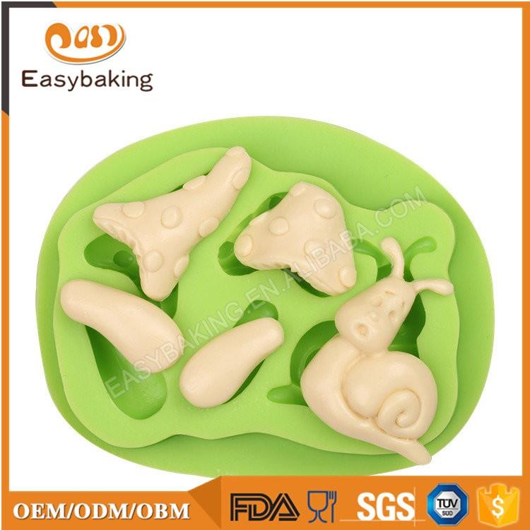 ES-4603 Cartoon Theme Silicone Fondant Cake Decorating Mold
