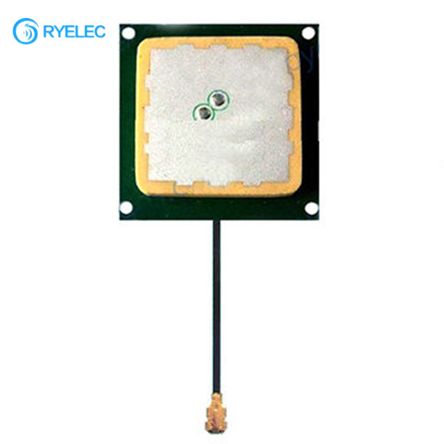 40X40X5mm 915MHz Ceramic Patch chip GSM Antenna with UFL connector