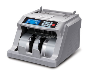 Paper+Plastic/Polymer Notes Currency Counting Machine
