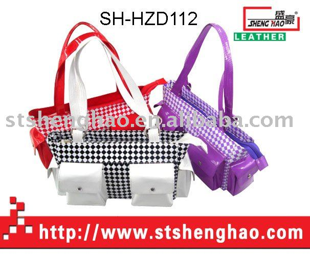 The outer bag PVC leather female bag