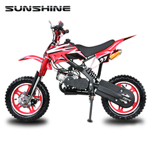 Cheap Price 50cc 2 stroke full size children dirt bike motorcycle