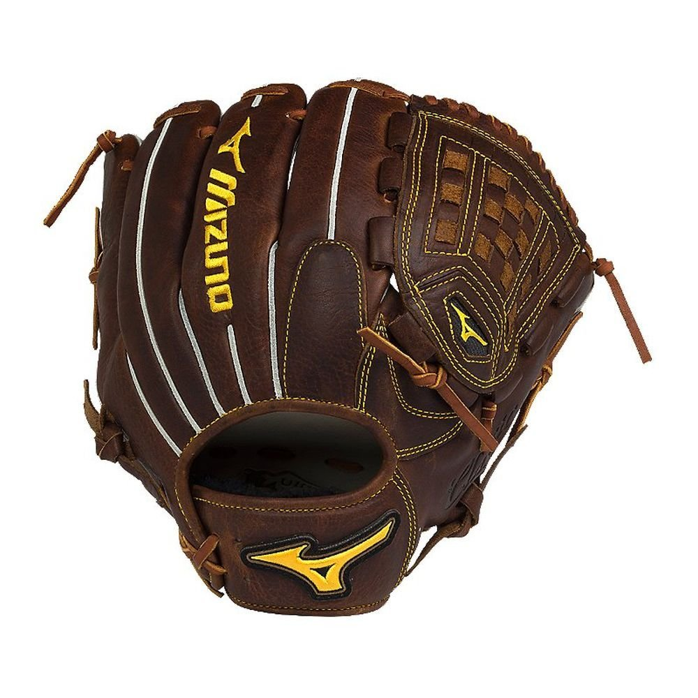 68ef4c8b3 Get Quotations · Mizuno Classic Pro Soft GCP1AS2 Mens Infield Pitcher  Baseball Glove 1200 Peanut