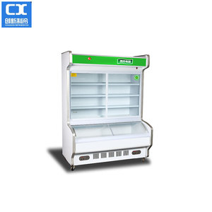 Supermarket refrigerator showcase