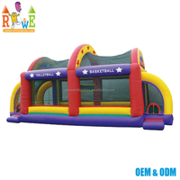 Quality assurance bouncy inflatable volleyball field football arena basketball court