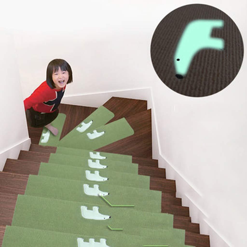 CarPet Long Gang Shop Chemical Fiber Staircase Step pad self-Adhesive  Non-Slip Non 1165774d8