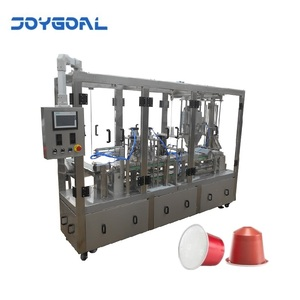 Coofee filling and sealing machine capsules filling and sealing packing machine power granule filling packing machine