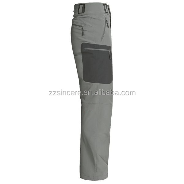Unisex casual waterproof hiking softshell pants