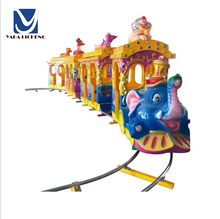 Top sell 14 players elephant animals train children game playground amusement park train ride for sale