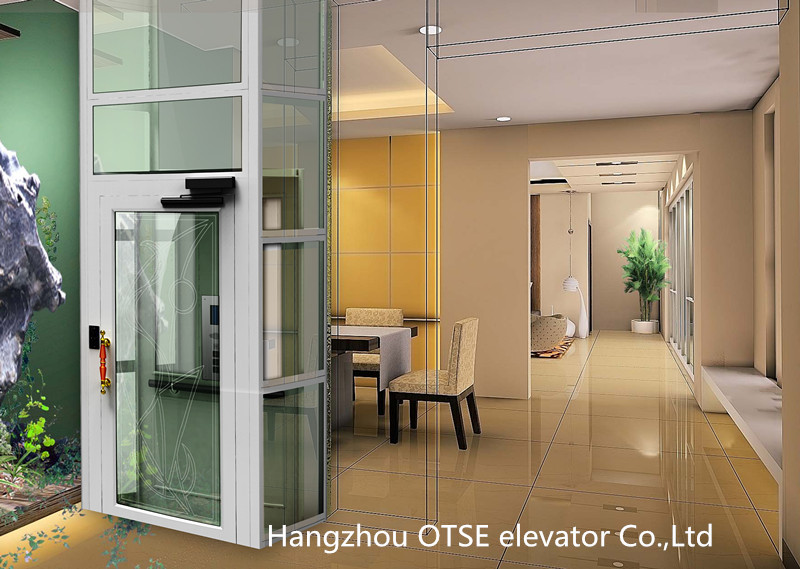 Marvelous Small Elevators #10: 2 Person Used Glass Home Elevator Lift - Buy Home Elevator Lift,Small  Elevator For 2 Person,Indoor Home Elevator Product On Alibaba.com