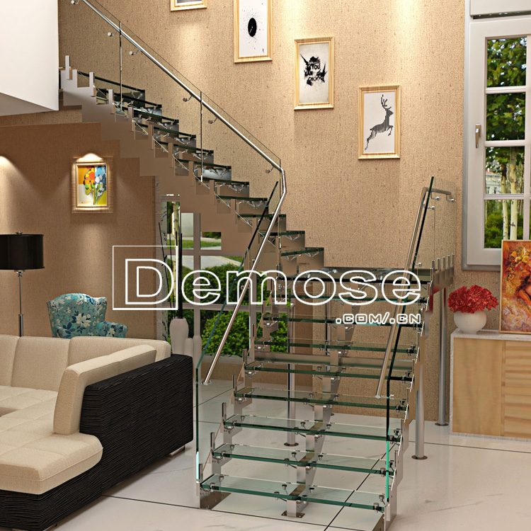 Electric Steel Singer Stairs Glass Staircase Paint Buy Crystallized