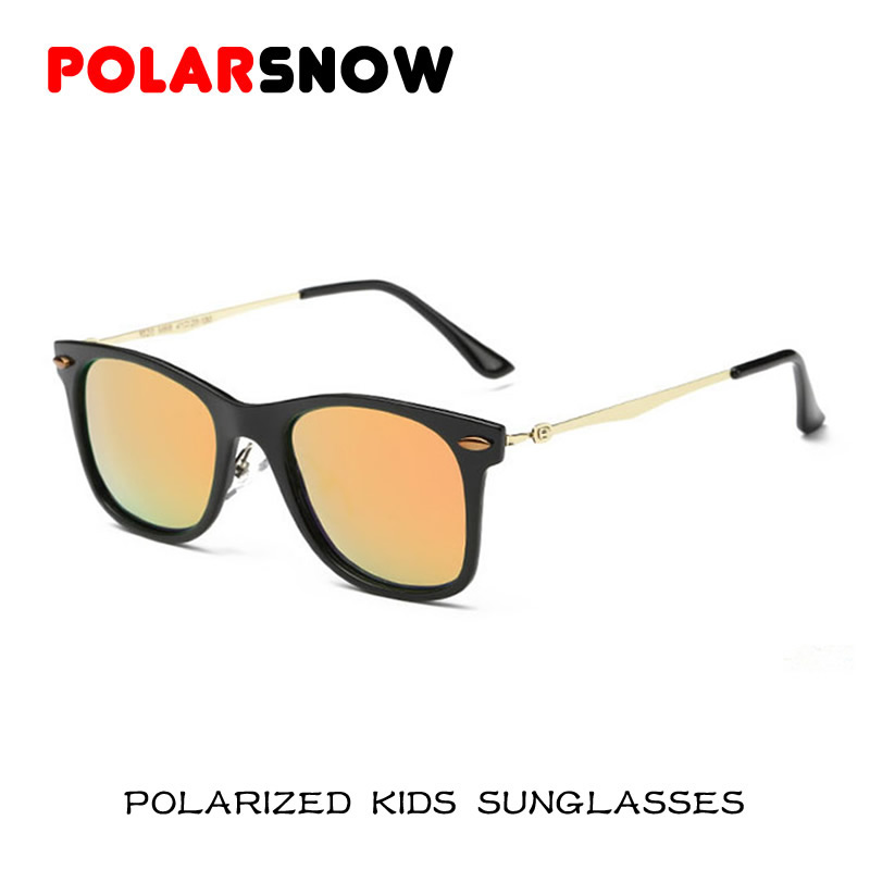 710071afd New Fahion Polarized Sunglasses Children 2016 Safety Coating Sun Glasses  Girls Boys UV400 Protection Fashion Kids Oculos De Sol