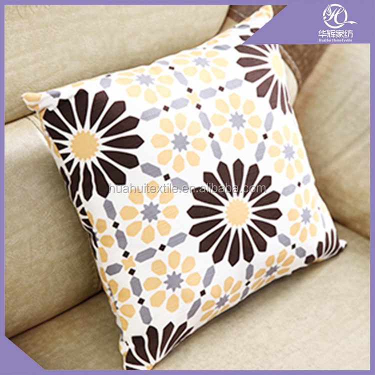 outdoor satin cushion covers 100% polyester cushion covers , comfort Cushion Cover