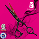 Razorline CK100R&B SUS440C high quality hair cutting scissor Hotest slim blade salon shears Best barber hair scissors