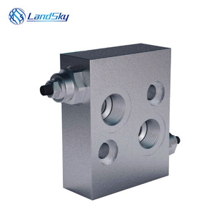 LandSky VAU-G1/2-OMP/OMR how to set hydraulic pressure relief valve setting procedure troubleshooting