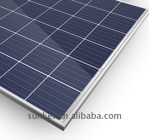 perferred 265w poly solar panel total 10kw solar panel cleaning system
