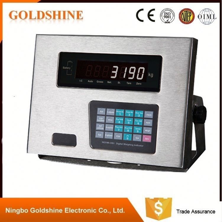 Promotion factory supply platform weighing scale indicator