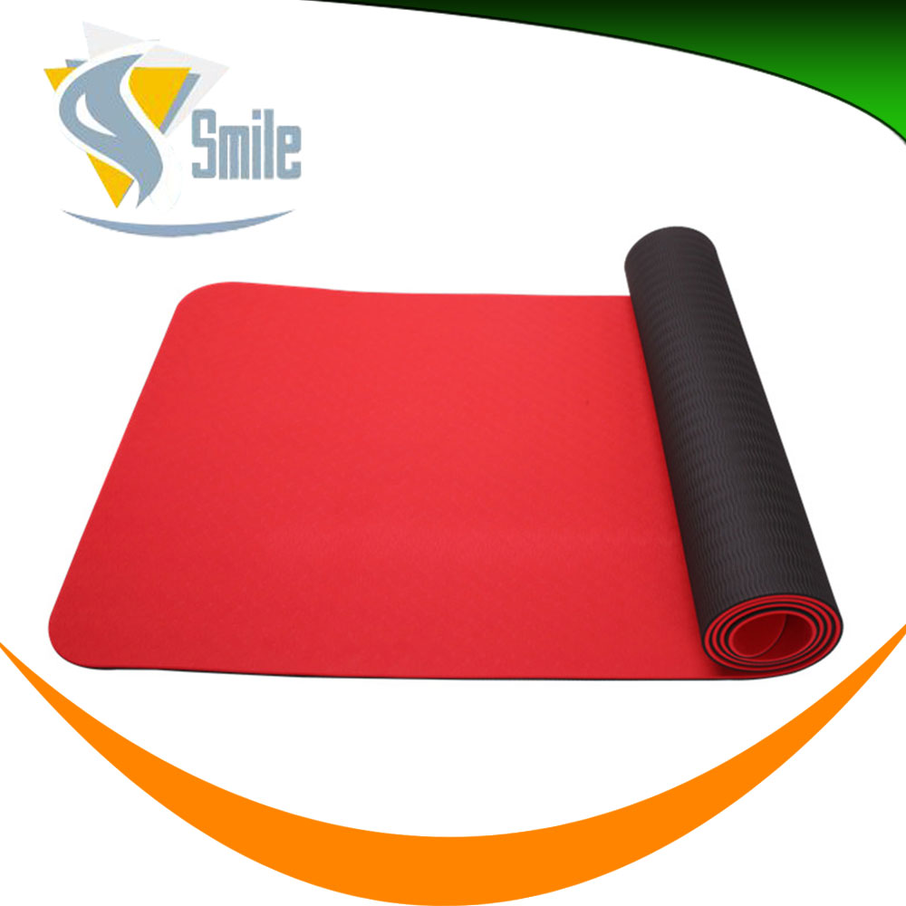Good chemical resistant eco-friendly soft textile yoga logo mat full color fashion led strip