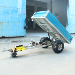 Hot Sale Loading Hydraulic China Tractor Trailer Price