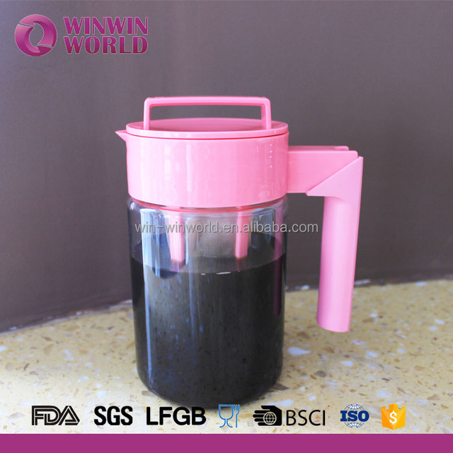 of 13 litre bpa free iced coffee maker with handle