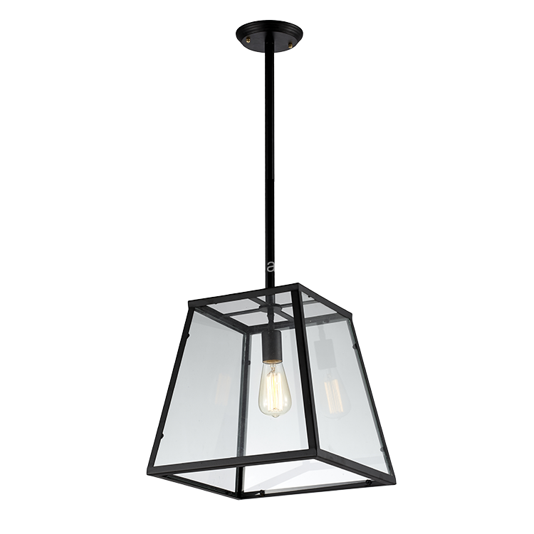 Hihg quality covers glass decorative vintage industrial hanging pendant ceiling light
