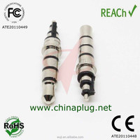 Practical nickel-plated 23.5L quadrupole plug suitable for 3.5 mm jack MP3 Mini Speaker
