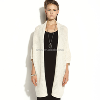 17HLC2007 crochet spring cashmere cardigan for women 2017