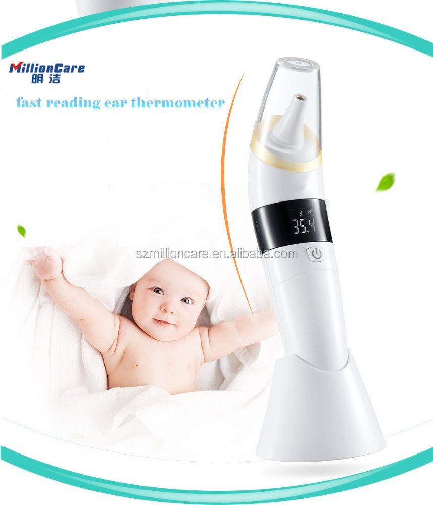 Customized fast reading digital braun thermoscan ear thermometer