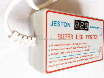 Jeston Super Lcd Led Tester For Led All Size Backlight Panel Voltage  Current Test Tool - Buy Lcd Led Tester,Led Tester,Lcd Panel Tester Product  on