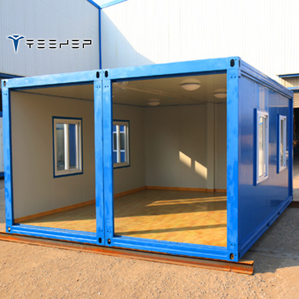 Wooden Trailer Wheels Expandable Container House In South ...