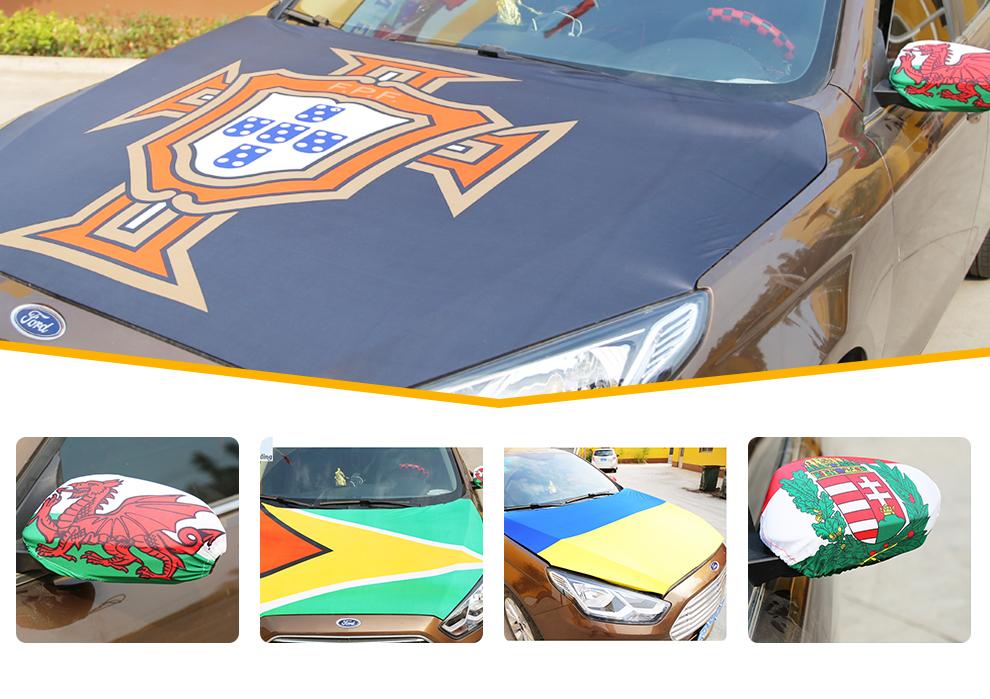Direkt Ab Werk Wunderbare Qualität Spandex Car Mirror and Hoody Cover