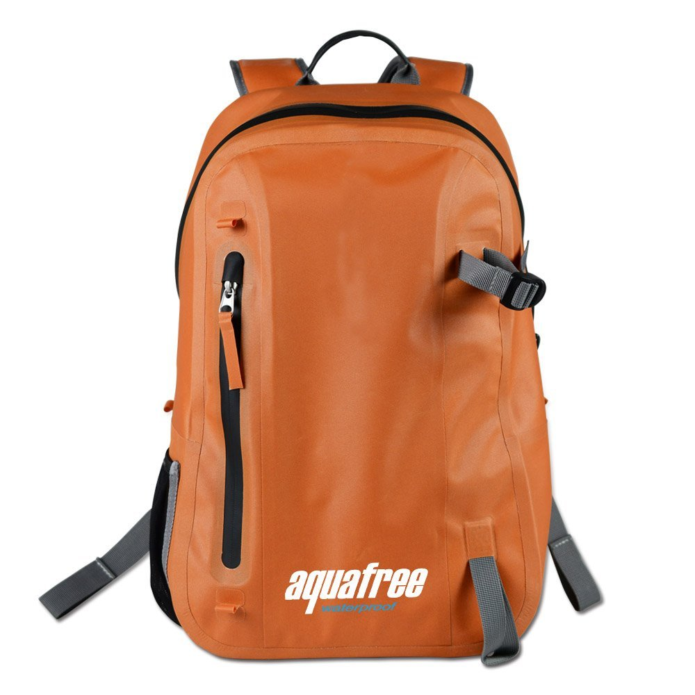 Aquafree Fully-enclosed Dry Bag, 2017 Stylish Waterproof Urban Backpack, 600D TPU Wading Waterproof Bag