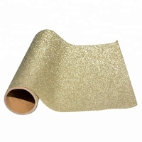 China Cheap Price PVC Decoration Usage Self Adhesive Gold Glitter Wallpaper with Removable Glue