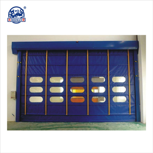 Cheap Automatic High Speed PVC Plastic Folding Doors