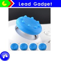 4Pcs Silicone Gel Thumb Grips For PS3 PS4 XBOX One 360 Controller
