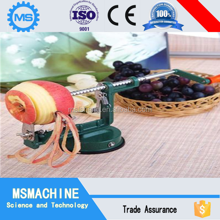 New Stainless 3in1 Apple Pear Fruit Peel Peeler Corer Slicer Cutter Machine
