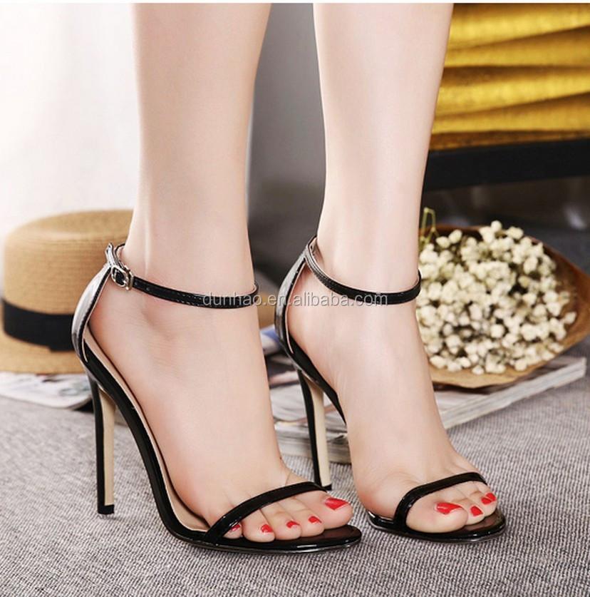 f3e6176384e4 2016 New Design Latest Model Ladies High Heel Sandals - Buy High ...