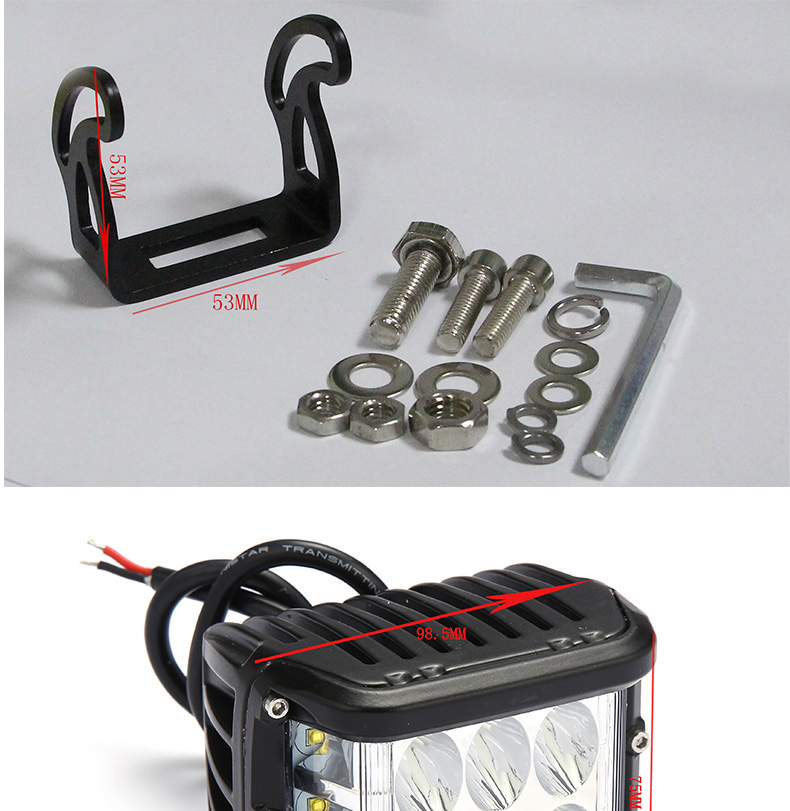 boat led work light battery operated led work light china supplier factory movable led work light